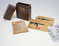 50 Cards     Service Firearms