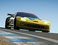 Corvette C6.R Game Model