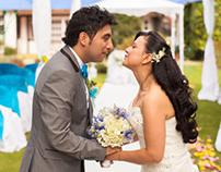 Kari + Carlos weddings