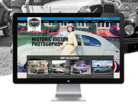 Motor Graphs website design