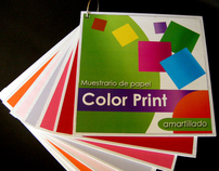 Designing a Color Print paper catalogue