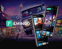 FILMINGO- Online Cinema Mobile UX UI