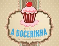 """Logo """"A Docerinha"""""""