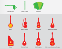 Symbols of Portugal and the Music