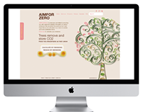 Aim for Zero - Web Design