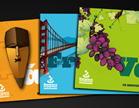 Travel Guides + other material for Banesco