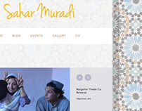 Sahar Muradi Website