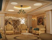 Royal Reception Interior design