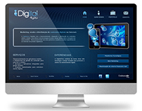 2011 - Website Layout for the company Digital4you