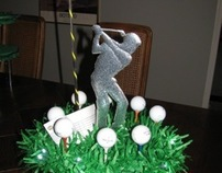 Golf Themed Bar Mitzvah Party