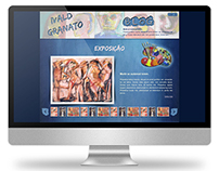 2011 - Website Layout for Ivald Granato