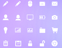 150+ Beautiful Free Flat Icons Set