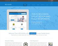 Flat Corporate Wordpress