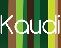 Graphic identity for Kaudi