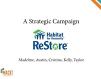 Presentation: Strategic Campaign for HFH ReStore