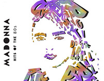 Typographic Madonna Image