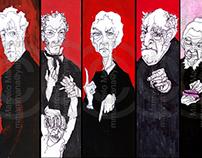 Varios personajes en... - Several characters in...