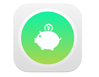 My Money Sample iOS 7 Icon