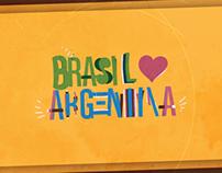 Brasil ❤ Argentina
