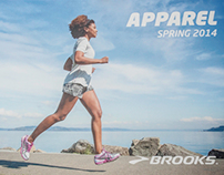 Brooks Apparel and Footwear Catalogs