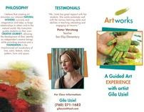 Brochure: ArtWorks art classes