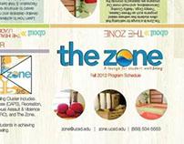 Zone Program Brochure Redesign: 2012-2013
