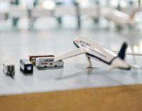 Bangalore International Airport Miniature Model