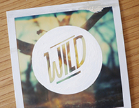 Typography on Polaroid