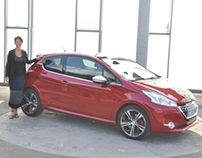Interview Anna Costamagna & Peugeot 208 XY
