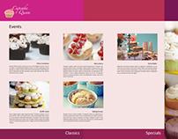 Web Design for company portfolio