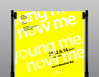 Young Me Now Me|Live show poster
