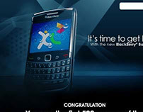 XL Blackberry launch 2011 electronic invitation