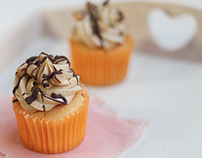 Product Photography - We Love Desserts - Cupcake Range