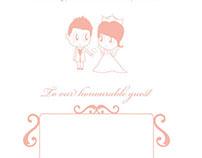 Victorio and Vuva Wedding Invitation