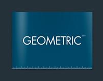 GEOMETRIC – Futura Font Booklet