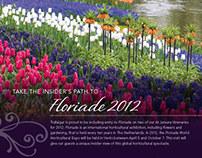 At Leisure Floriade Trade Flyer