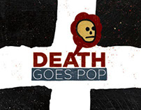 Mike Egan DEATH GOES POP BOOK