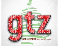 GTZ greeting card