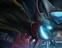 Zero Suit Iron Man