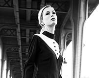 Drissia Angel fashion shoot in Paris