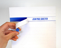 Invitation card - Jean Paul Gaultier
