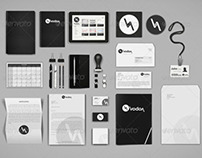 Corporate and Brand Identity Mock-Up