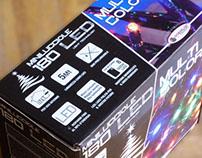 Giocoplast 180 LED Multicolor Lights Packaging