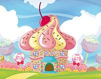 Cupcake's land