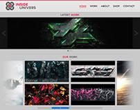 InsideUnivers | Web Design