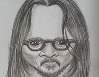 caricature: Johnny Depp