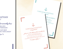 Wedding Invitation | Nautical