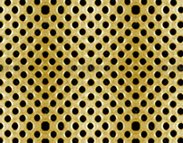 3 Fabric Metal Pattern Background
