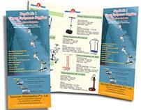Fitness Product Brochure Design