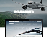 Bombardier – Corporate Website